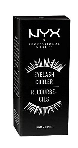 41yI03jqq6L NYX Professional Makeup Eye Lash Curler, Silver
