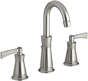bathroom sink faucets amazon kohler k 11076 4 bn archer lavatory faucet with 8 inch 16499