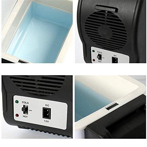 Auto Electric Cooler//Warmer DC 12V Refrigerator for Truck Boat Party Travel Picnic Camping with Charger Cable EFORCAR Portable Car Fridge