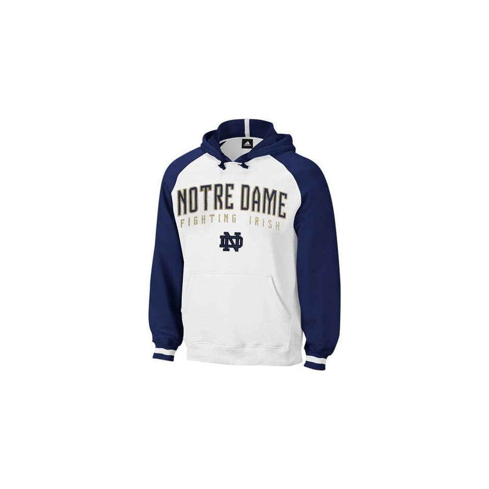 adidas Notre Dame Fighting Irish White Dream Hoody Sweatshirt