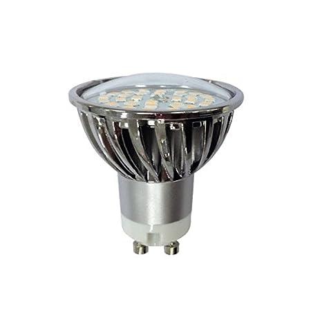 BOMBILLA GU10 LED 7W 4200K (Luz neutra) y 520 Lumenes de potencia: Amazon.es: Iluminación