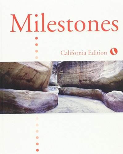 Milestones B - CA Edition