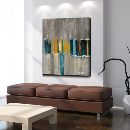 Ready2HangArt Alexis Bueno ''Smash VII'' Oversized Canvas Wall Art by Ready2hangart