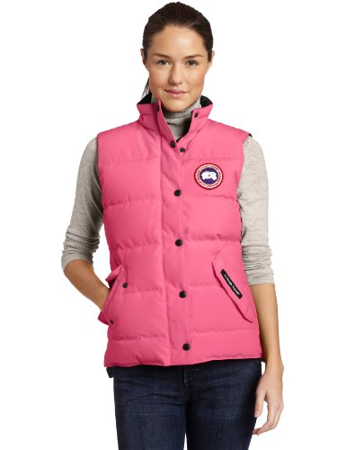 Canada Goose Women's Freestyle Vest,Summit Pink,X-Large