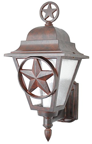 Lone Star Outdoor Wall Light - 7