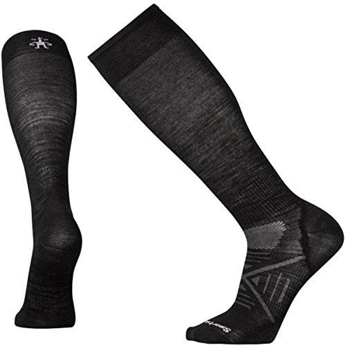 Smartwool Ski Light Socks (Smartwool Men's PhD Ski Ultra Light Socks (Black) Large)