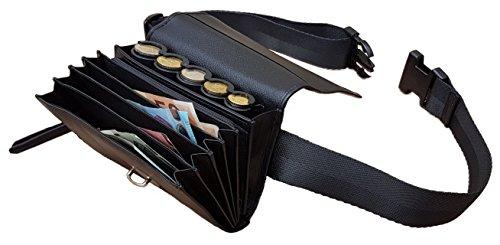 Banane Server Leder mit Münzsortierer Euro 5-teilig Verschluss Schulranzen