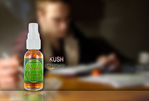 Blunt Xtreme Ultimate Kush Type Air Freshener - 100% Ultra Concentrated Oil Based Spray - Ideal For Bathroom, Home, & Car More - Smokers' 1st Choice - Long Lasting Effects - 1oz Bottle