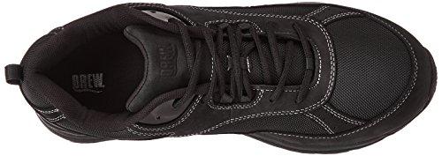 Leather Drew Nylon Shoe Black Aaron Men's ZnIx17qA