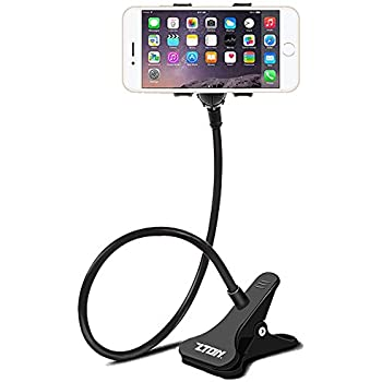 Zton Cell Phone Holder Universal Mobile Phone Stand Lazy Bracket Flexible Long Arms
