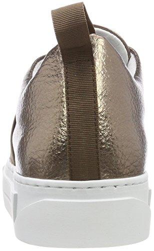 Sneaker Marron bronze Basses Psdione Leather Mist Mist Pieces Sneakers Femme Bronze Ex70aqW01n