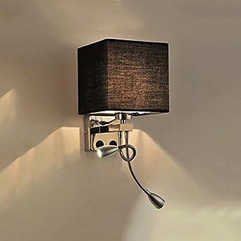 Nachttisch Lampe Led Wandleuchte Stoff Moderne Gang Lampe Balkon