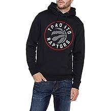 Toronto Raptors Licensed NBA New Circle Logo Hoodie Black