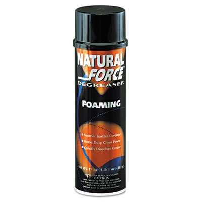 DYM36120 - Natural Force Foaming Degreaser, Citrus, 20oz, Aerosol