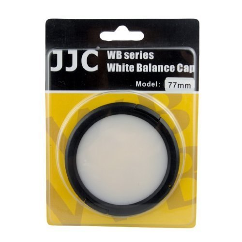 JJC WB-77 77mm White Balance Lens - White Lenses