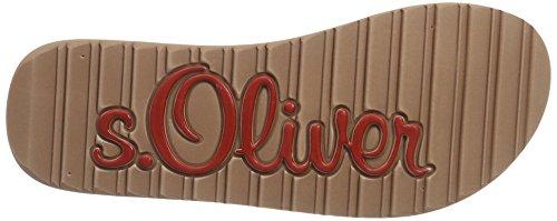 s.Oliver 27122, Sandalias para Mujer Rosa (DUSTY PINK 547)