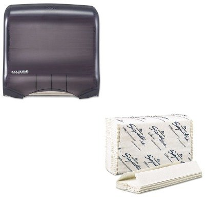 KITGEP23000SJMT1750TBKRD - Value Kit - Georgia Pacific C-Fold Paper Towels (GEP23000) and San Jamar Ultrafold Towel Dispenser (SJMT1750TBKRD)