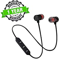 Lambent Smart Magnetic Wireless Bluetooth V4.1 Headset with Built-in Mic for All Latest Smartphone
