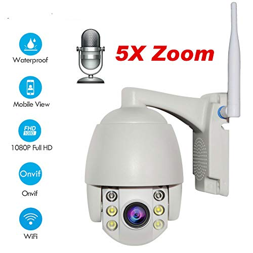 Super Mini WiFi Security Camera Outdoor HD Dome IP Camera 1080P
