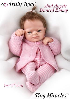 Linda Webb Tiny Miracles And Angels Danced Emmy Realistic Baby Doll: So Truly Real by Ashton Drake