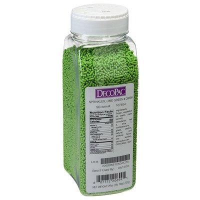 - 26 Oz Lime Green Sprinkles