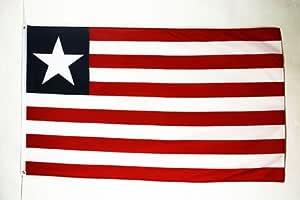 AZ FLAG Bandera de Liberia 150x90cm - Bandera LIBERIANA 90 x 150 cm: Amazon.es: Hogar