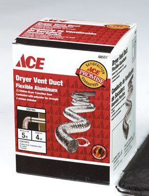 DUCT SUPUR-FLX DRYR4X5' [Misc.] - Supurr Flex Metallic Duct
