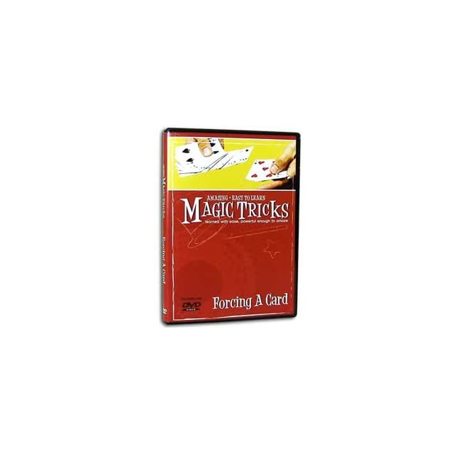Amazing Easy to Learn Magic Tricks DVD Forcing a Card