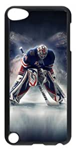 LZHCASE Personalized Protective Case for iPod Touch 5 - NHL New York Rangers #30 HENRIK LUNDQVIST