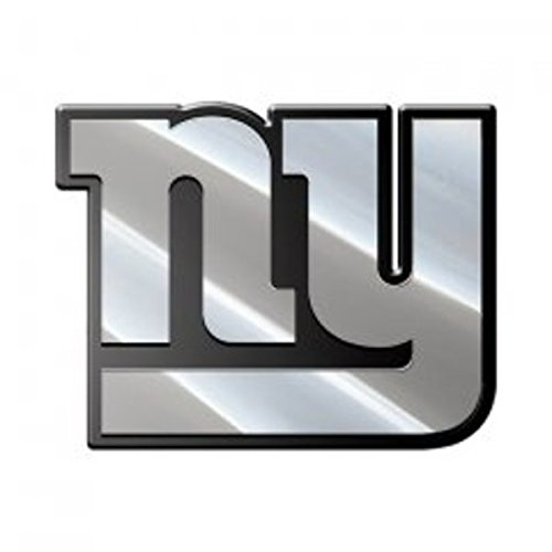 (NFL New York Giants Premium Metal Auto Emblem)