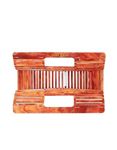 Cult Gaia Damen 20002ACAGTMIAGATE Orange Kunststoff Handtaschen