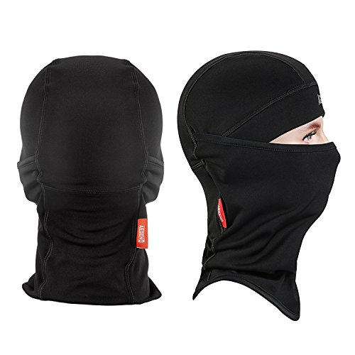 Balaclava-Aegend-Windproof-Ski-Face-Mask-Winter-Motorcycle-Neck-Warmer-Tactical-Balaclava-Hood-Polyester-Fleece-for-Women-Men-Youth-Snowboard-Cycling-Hat-Outdoors-Helmet-Liner-Mask-Black-1-Piece