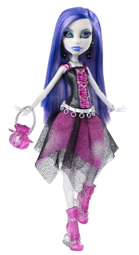 Monster High Spectra Vondergeist Doll With Pet Ferret Rhuen - stylishcombatboots.com