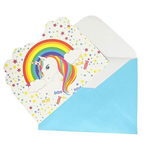 Supreona Birthday Invitations with Envelopes - Kids Birthday Party Invitation Card for Boys Girls (24 PCS/Set) ()
