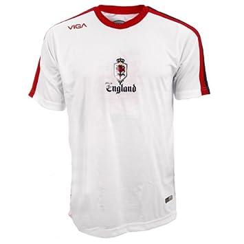 Viga - Camiseta de fútbol, diseño del escudo de la Selección Inglesa de fútbol Talla