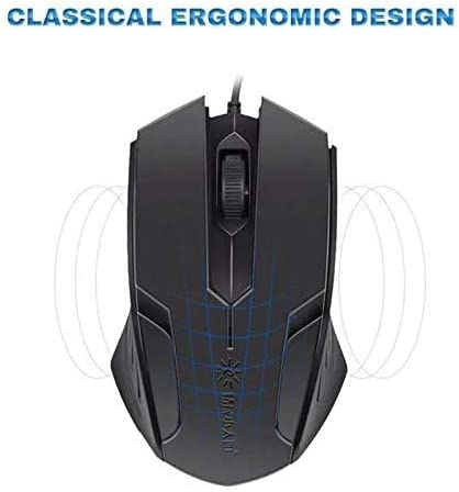 Sunrose M8 Wired USB Computer Gaming Mouse Laptop1000Dpi Photoelectric Games Mouse for Pc LOL Pubg Games
