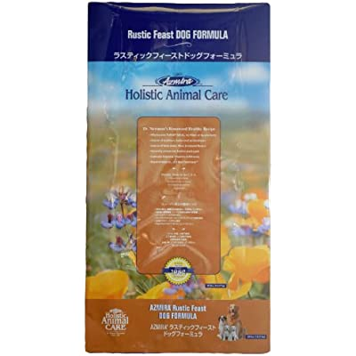 Azmira Holistic Animal Care Premium Natural Dog Food: Rustic Feast Turkey Formula - 15lbs.