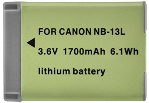 Xit XTNB13L 1700mAh Lithium Ion Battery for Canon NB-13L (Light Green)