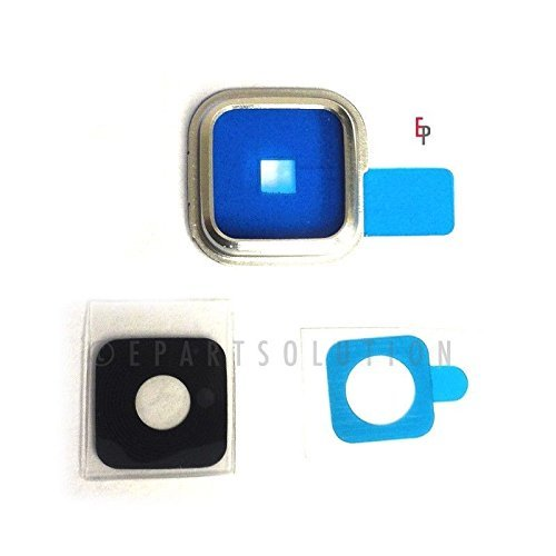 Generic ePartSolution-Samsung Galaxy S5 G900A G900T G900V G900P Camera Lens Cover Repair Part USA Seller (Camera Lens S5)
