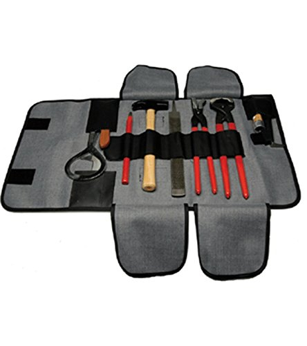 Pro Grade Complete Farrier Tool Kit w/ Carrying Case by JackS