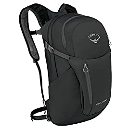 "Osprey Daylite Plus Daypack 2 Large panel loading main compartment provides accessibility to inside contents Dual stretch mesh side pockets provide additional storage options The multi-function interior sleeve can be used for either a reservoir, tablet or laptop (up top 14""); attaches to a variety of compatible Osprey Packs"