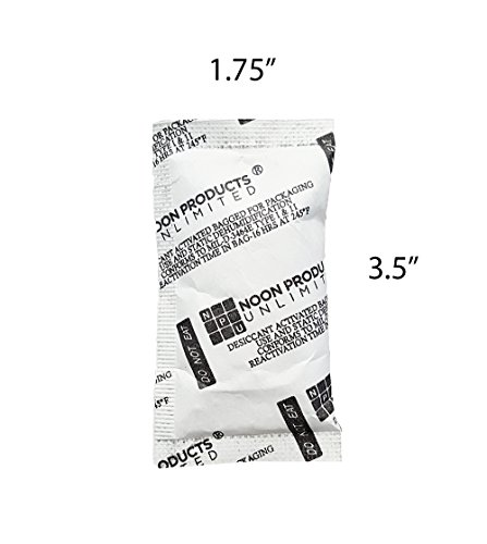 Silica For Safes 10 Gram (50 PACK) Desiccant Gel Packets Storage Solution - Conform to MIL-D-3463E I & II Absorbents. Perfect for electronics, storage, safes, tools, ammunition, food, powder, and more