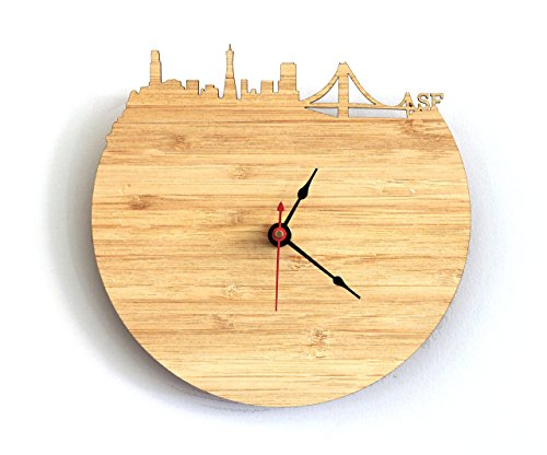 San Francisco Skyline Clock