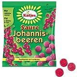 Katjes(カッチェス) フルーツグミ サワーブラックカラント 200g×4袋セット ゆうパケット