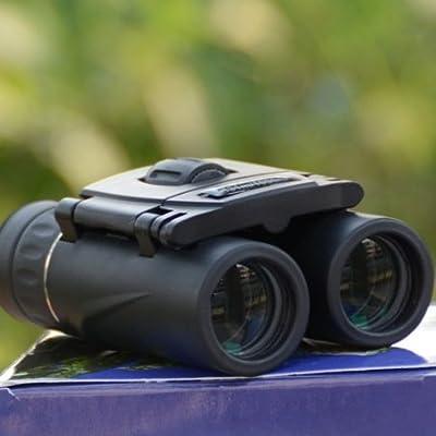 BBSLT-Large bande vert HD 8 X 21 Jumelles objectif oculaire travaux légers bleu fine portable