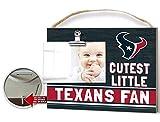 KH Sports Fan Clip It Colored Baby Logo Photo Frame Houston Texans