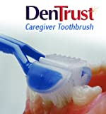 DenTrust 3-Sided Toothbrush :: Caregiver / Assisted Brushing :: Asperger ALS Autism :: Made In USA