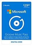Microsoft Groove Music Pass - 3 Months - Xbox 360 / Xbox One Digital Code
