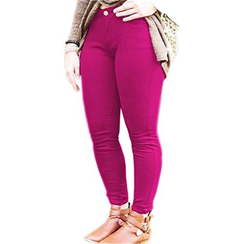 fucsia Leggings Mujer para Inc Vanilla wOIq0xXn