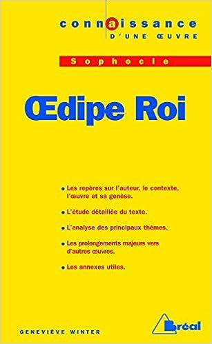 Lire un Oedipe-roi - sophocle pdf, epub